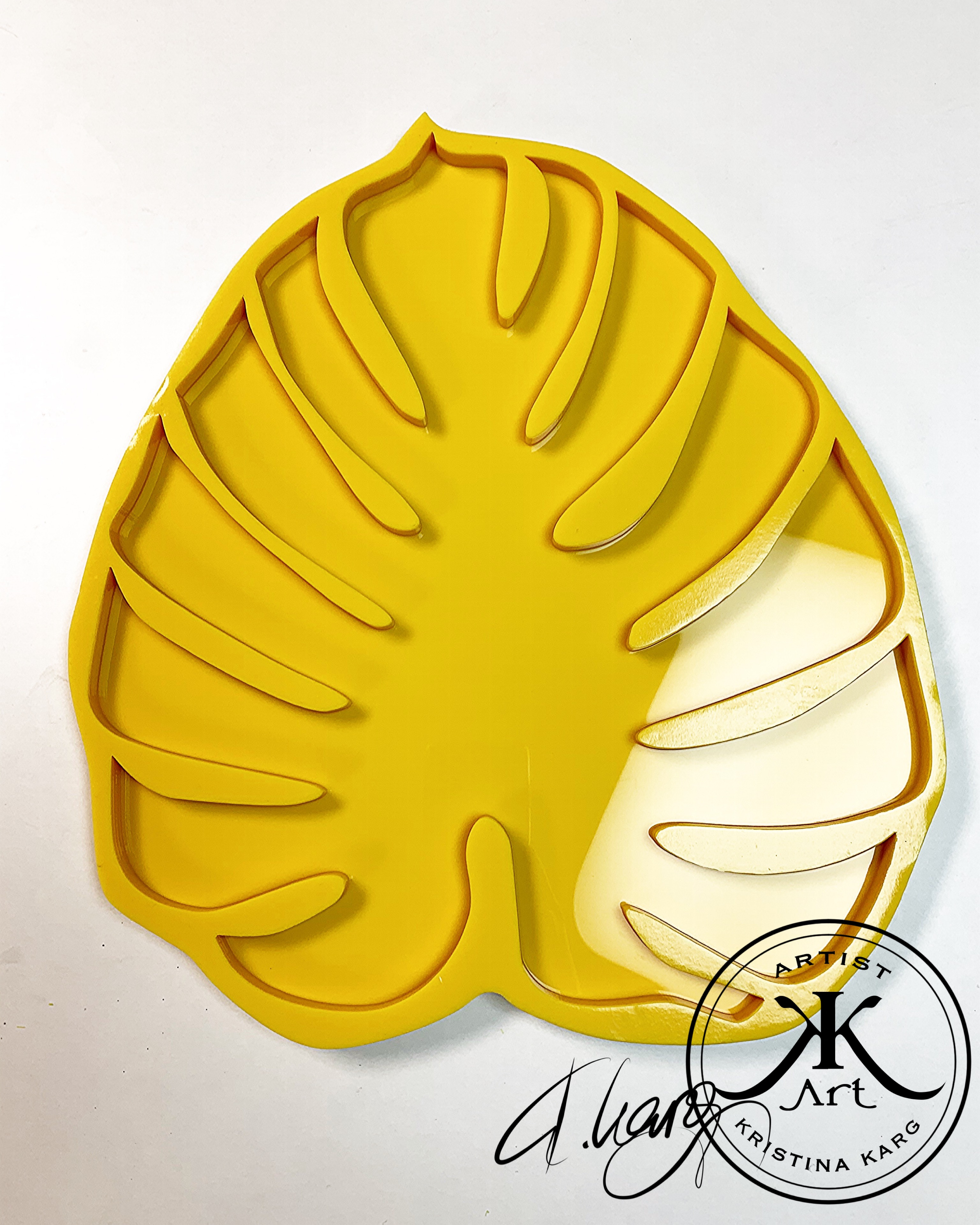 Monstera Mold Large