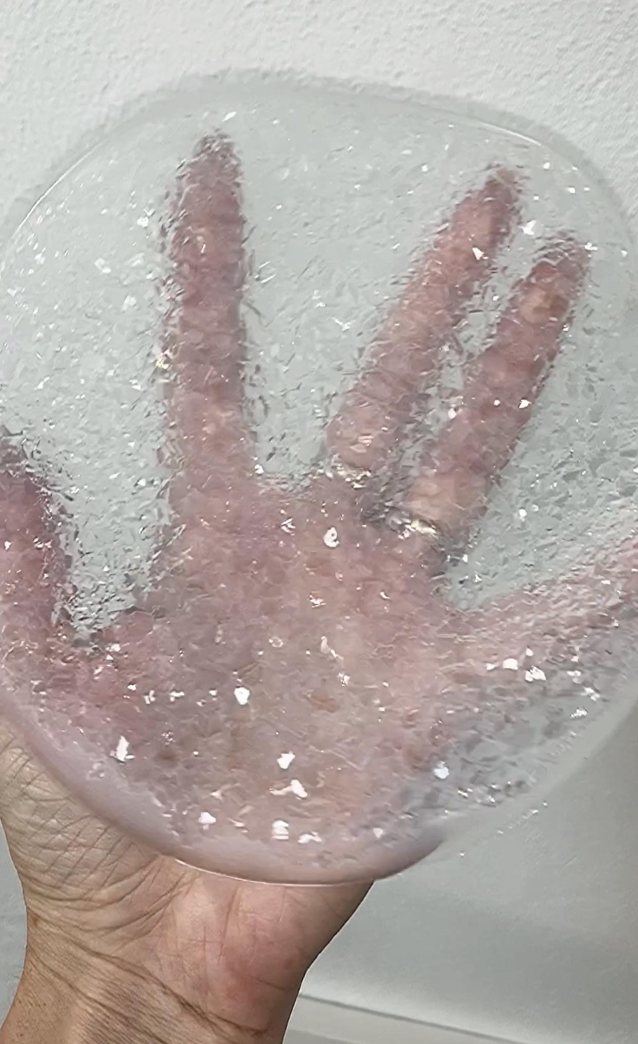 17cm Crystal Rug, Crystal Silikon Mold für Tablets und Platten